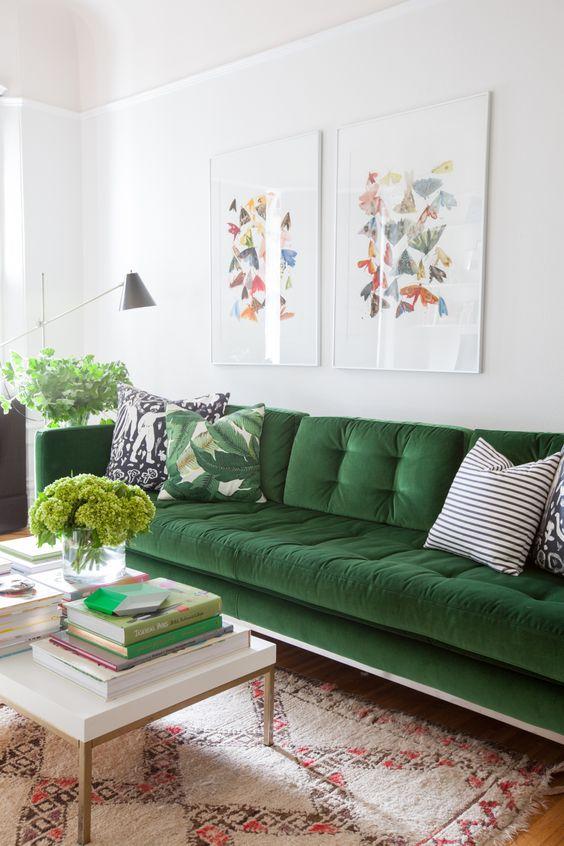 sofá-verde-terciopelo